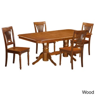NAPL5-SBR 4-chair 5-piece Dining Room Set (2 options available)