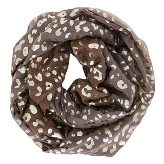Leopard Circle Scarf