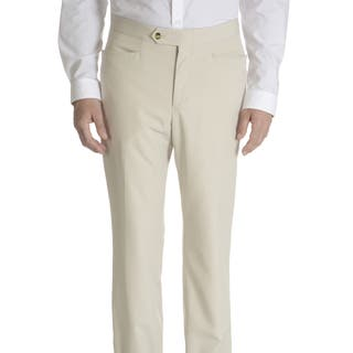 Sansabelt Men's Axle Solid Poplin Top-pocket Slim-cut Dress Pants|https://ak1.ostkcdn.com/images/products/11996616/P18875816.jpg?impolicy=medium