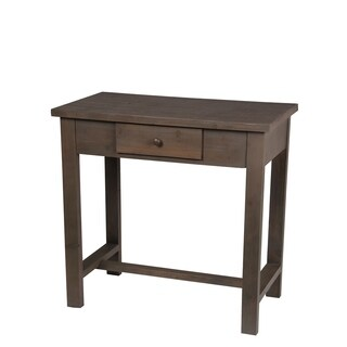 Privilege Transitional Chocolate 1-drawer Accent Console Table