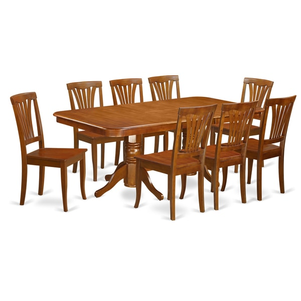 Shop NAAV9-SBR-C 8-chair 9-piece Dining Room Set