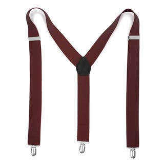 Ferrecci Premium Unisex Spandex/Faux Leather Mod Vintage-style Clip-on Suspenders|https://ak1.ostkcdn.com/images/products/11996646/P18875858.jpg?impolicy=medium