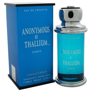 Yves de Sistelle Anonymous Thallium Men's 3.3-ounce Eau de Toilette Spray (Limited Edition)