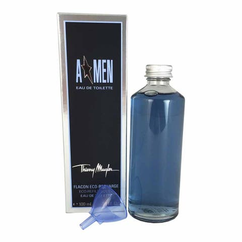 Thierry Mugler Angel Men's 3.4-ounce Eau de Toilette Splash (Eco-Refill)