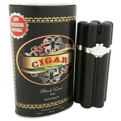 Remy Latour Cigar Black Wood Men's 3.3-ounce Eau de Toilette Spray