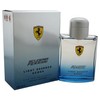 Ferrari Scuderia Light Essence Acqua Men's 4.2-ounce Eau de Toilette Spray