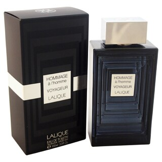 Lalique Hommage a l'Homme Voyageur Men's 3.3-ounce Eau de Toilette Spray