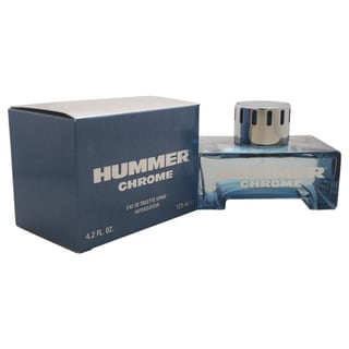 Hummer Chrome Men's 4.2-ounce Eau de Toilette Spray