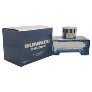 Hummer Chrome Men's 4.2-ounce Eau de Toilette Spray