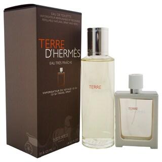 Hermes Terre D'Hermes Eau Tres Fraiche 121 Gr Men's 2-piece Gift Set
