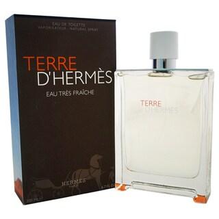 Hermes Terre D'Hermes Eau Tres Fraiche Men's 6.7-ounce Eau de Toilette Spray