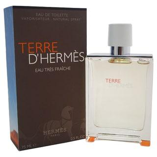 Hermes Terre D'Hermes Eau Tres Fraiche Men's 2.5-ounce Eau de Toilette Spray