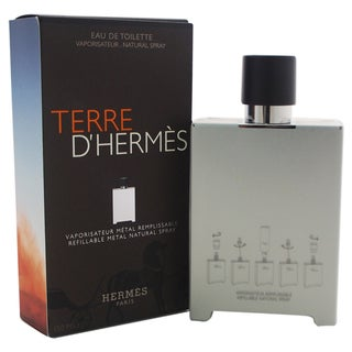 Hermes Terre D'Hermes Men's 5-ounce Eau de Toilette Refillable Metal Spray