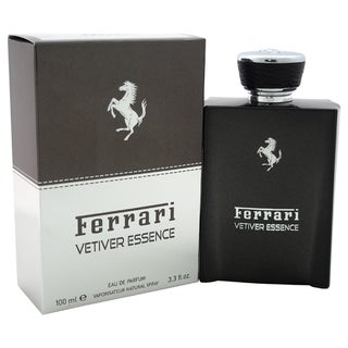 Ferrari Vetiver Essence Men's 3.3-ounce Eau de Parfum Spray