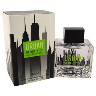 Antonio Banderas Urban Seduction In Black Men's 3.4-ounce Eau de Toilette Spray