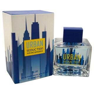 Antonio Banderas Urban Seduction Blue Men's 3.4-ounce Eau de Toilette Spray