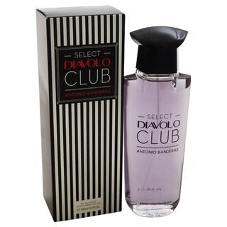 Antonio Banderas Select Diavolo Club Men's 3.4-ounce Eau de Toilette Spray