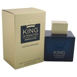 Antonio Banderas King of Seduction Absolute Men's 3.4-ounce Eau de Toilette Spray