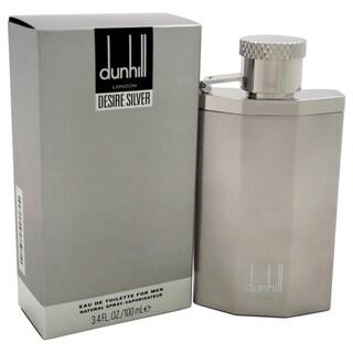 Alfred Dunhill Desire Silver Men's 3.4-ounce Eau de Toilette Spray
