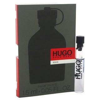 Hugo Boss Hugo Men's 1.5 ml Eau de Toilette Splash Vial (Mini)