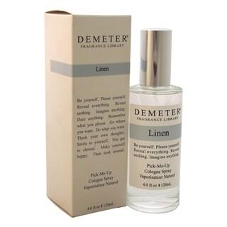 Demeter Linen Unisex 4-ounce Cologne Spray