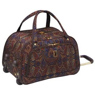 London Fog Soho Collection 19-inch International Wheeled Club Duffel Bag