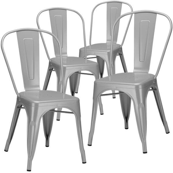 Brilliant Shop Poly And Bark Trattoria Dining Side Chair Set Of 4 Bralicious Painted Fabric Chair Ideas Braliciousco