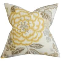 Unai Floral Throw Pillow Cover
