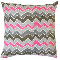 Ishik Zigzag Throw Pillow Cover