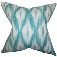 Yitzhak Ikat Throw Pillow Cover