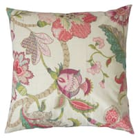 Juhani Floral Throw Pillow Cover