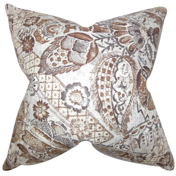 Heidrun Floral Throw Pillow Cover