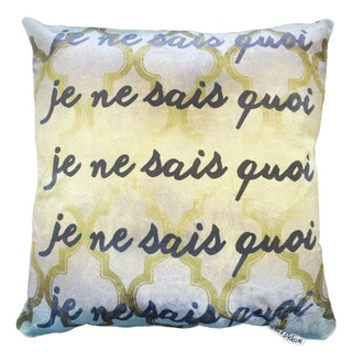 Maxwell Dickson 'Undescribed' Throw Pillow