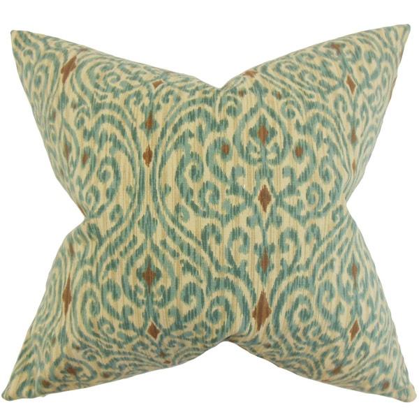 Ennis Ikat Throw Pillow Cover