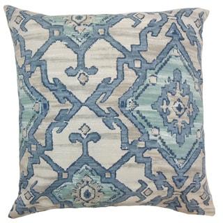 Halia Ikat Throw Pillow Cover