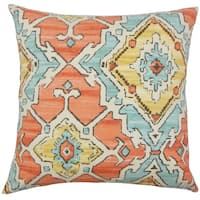 Helia Ikat Throw Pillow Cover