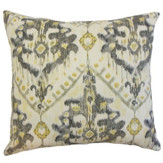 Picabia Ikat Throw Pillow Cover