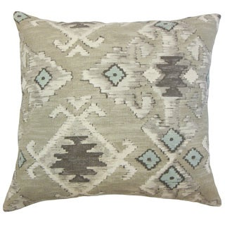 Nouevel Ikat Throw Pillow Cover
