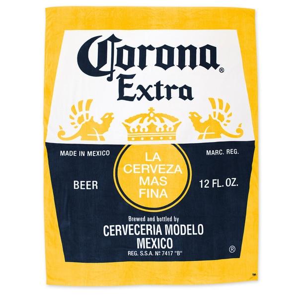 Shop Corona Yellow Cotton Extra Jumbo Blanket Beach Towel Free