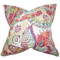 Heidrun Floral Throw Pillow Cover