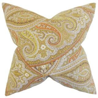 Uma Paisley Throw Pillow Cover