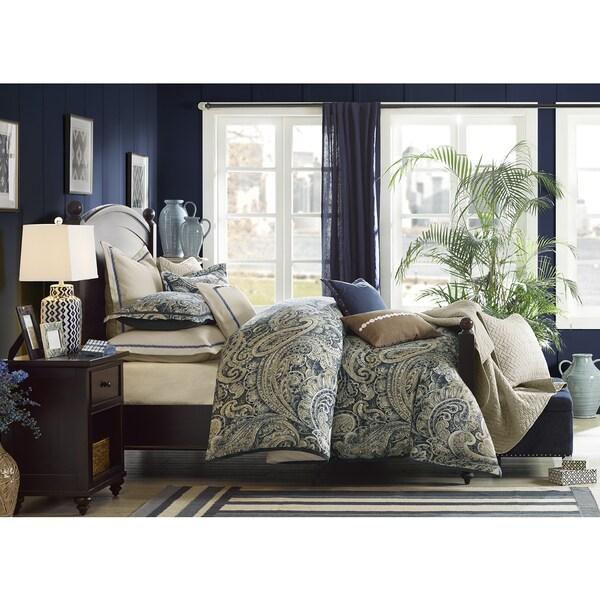 Hampton Hill Urban Chic Navy Cotton Comforter Set