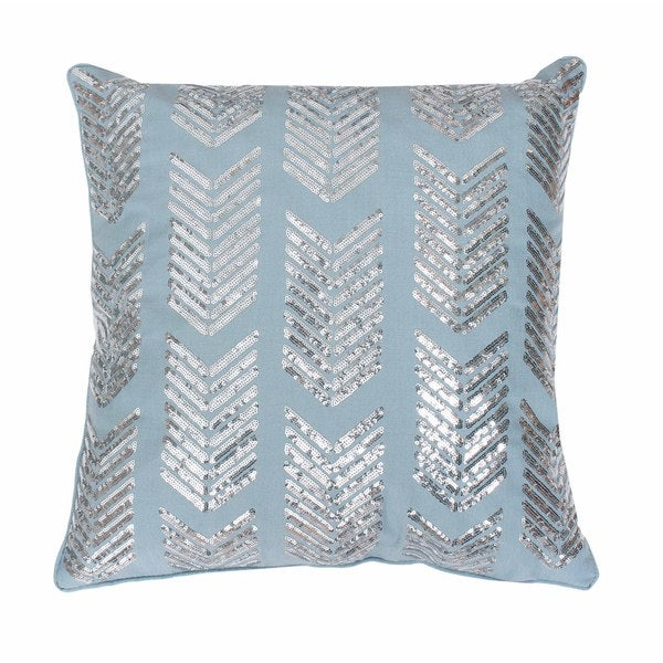 Hadara Sequin Arrow Feather-filled Throw Pillow - Free ...