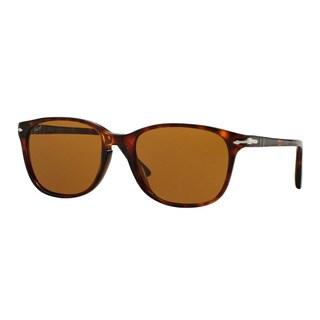 Persol Men's PO3133S 901533 Havana Plastic Square Sunglasses