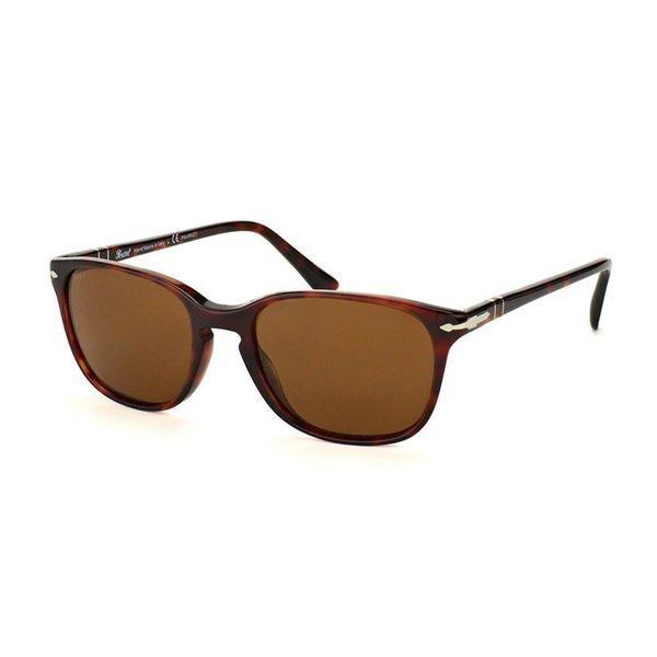 a9bd0819a7 Shop Persol Men s PO3133S 901533 Havana Plastic Square Sunglasses ...