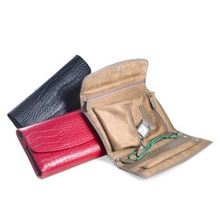 Bey Berk Leather Travel Jewelry Clutch