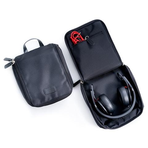 Bey Berk Ballistic Black Nylon Headphone Storage Case