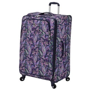London Fog Soho Collection 29-inch Expandable Upright Spinner Suitcase