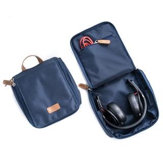 Bey Berk Ballistic Nylon Blue Headphone Travel Storage Case