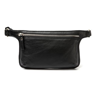 Vicenzo Leather Mibel Distressed Leather Waist Pack/Crossbody